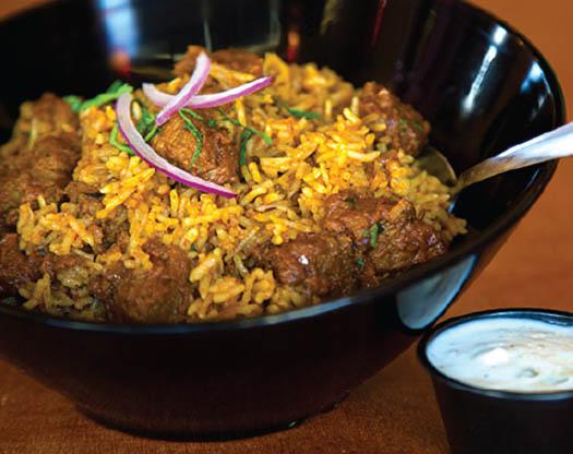 indian cuisine biryani